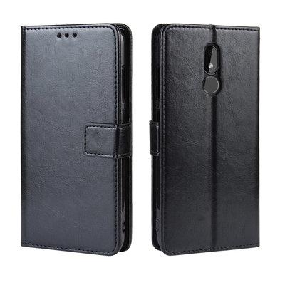 Nokia 3.2 hoesje, 3-in-1 bookcase, zwart