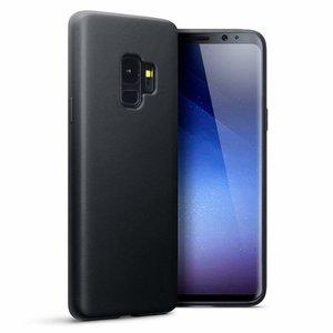 Samsung Galaxy S9 hoesje, gel case, mat zwart