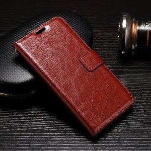 Samsung Galaxy Xcover 4S hoesje, 3-in-1 bookcase, bruin