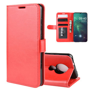 Nokia 6.2 / Nokia 7.2 hoesje, 3-in-1 bookcase, rood