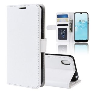 Huawei Y5 (2019) hoesje, 3-in-1 bookcase, wit