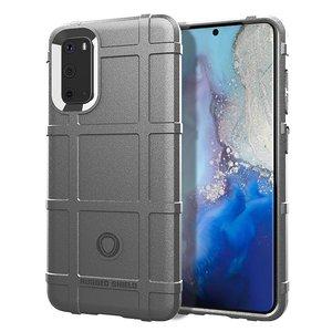 Samsung Galaxy S20 hoesje, Rugged shield TPU case, Grijs