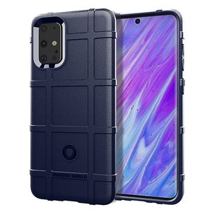 Samsung Galaxy S20 Plus (S20+) hoesje, Rugged shield TPU case, Blauw