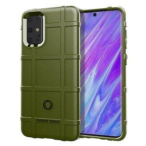 Samsung Galaxy S20 Plus (S20+) hoesje, Rugged shield TPU case, Groen
