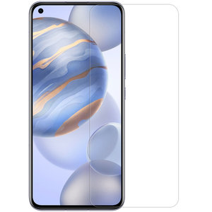 Samsung Galaxy A21s screenprotector, tempered glass (glazen screenprotector)