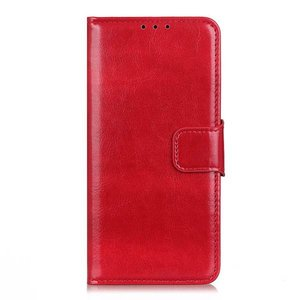 Samsung Galaxy Note 20 hoesje, Wallet bookcase, Rood