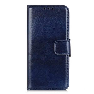 Samsung Galaxy Note 20 hoesje, Wallet bookcase, Blauw