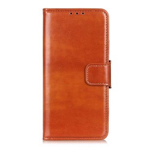 Samsung Galaxy Note 20 Ultra hoesje, Wallet bookcase, Bruin