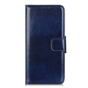 Samsung Galaxy Note 20 Ultra hoesje, Wallet bookcase, Blauw