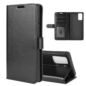 Samsung Galaxy Note 20 hoesje, Wallet bookcase, Zwart