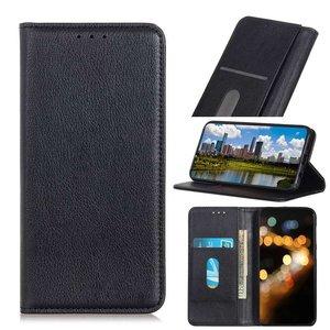 OnePlus 9 Pro hoesje, Luxe Wallet bookcase, Zwart
