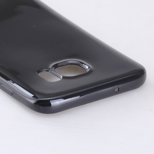 Samsung Galaxy S7 Edge hoesje, gel case, zwart