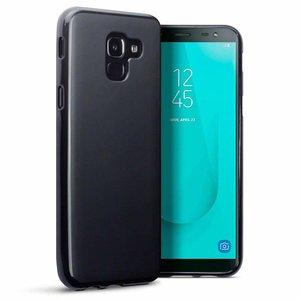 Samsung Galaxy J6 (2018) hoesje, gel case, zwart