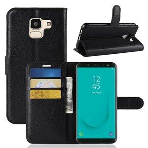 Samsung Galaxy J6 (2018) hoesje, 3-in-1 bookcase, zwart