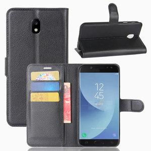 Samsung Galaxy J5 (2017) hoesje, 3-in-1 bookcase, zwart