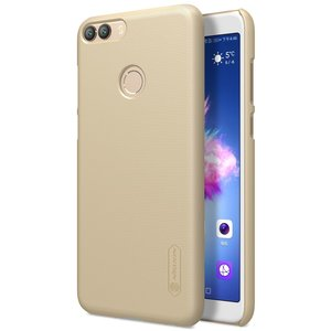 Huawei P Smart hoesje, Nillkin frosted shield case, goud