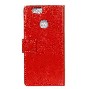 Huawei P Smart hoesje, 3-in-1 bookcase, rood