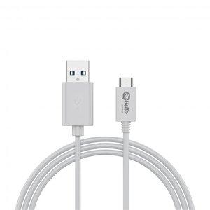 BeHello USB-C oplaadkabel (1 meter) 2.1A, wit