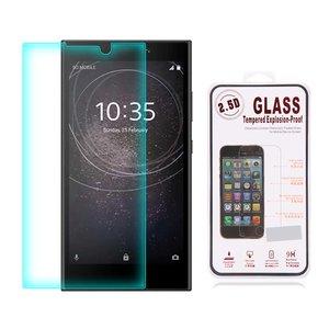 Sony Xperia XA2 screenprotector, tempered glass (glazen screenprotector)