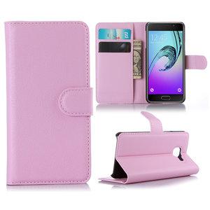 Samsung Galaxy A3 (2016) hoesje, 3-in-1 bookcase, roze