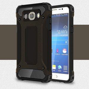 Samsung Galaxy J5 (2016) hoesje, tough armor extreme protection case, zwart