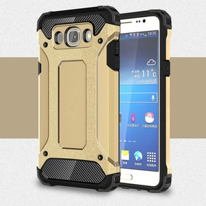 Samsung Galaxy J5 (2016) hoesje, tough armor extreme protection case, goud