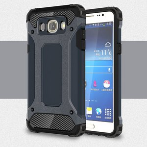 Samsung Galaxy J5 (2016) hoesje, tough armor extreme protection case, navy blauw