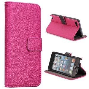 Apple iPod Touch 5 hoesje, 3-in-1 bookcase, roze