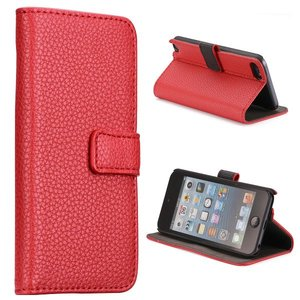 Apple iPod Touch 5 hoesje, 3-in-1 bookcase, rood
