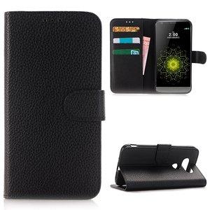 LG G5 hoesje, 3-in-1 bookcase, zwart