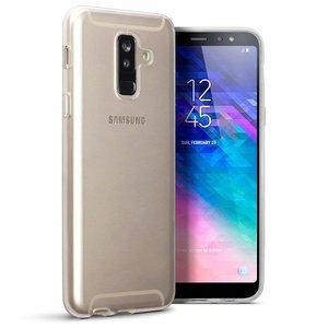 Samsung Galaxy A6+ (2018) / A6 Plus (2018) hoesje, gel case, doorzichtig