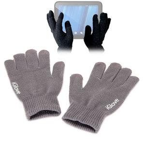 iGlove Touchscreen handschoenen, Donker grijs