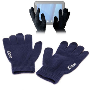 iGlove Touchscreen handschoenen, Donker blauw