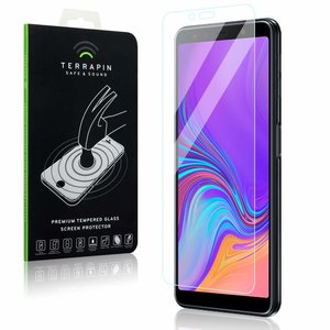 Samsung Galaxy A7 (2018) screenprotector, tempered glass (glazen screenprotector)