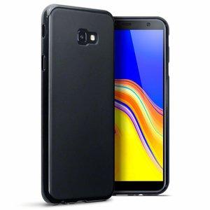 Samsung Galaxy J4 Plus hoesje, gel case, mat zwart