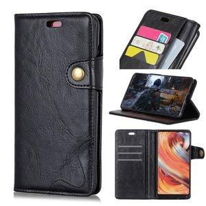 Nokia 5.1 Plus hoesje, 3-in-1 bookcase, zwart