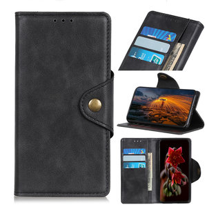 Samsung Galaxy A50 / A30S hoesje, 3-in-1 bookcase, zwart
