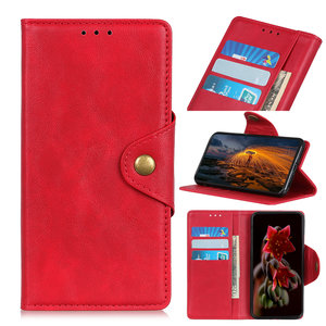 Samsung Galaxy A50 / A30S hoesje, 3-in-1 bookcase, rood