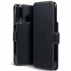 Huawei P30 Lite hoesje, 3-in-1 bookcase extra dun, zwart