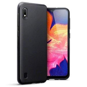 Samsung Galaxy A10 hoesje, gel case, mat zwart